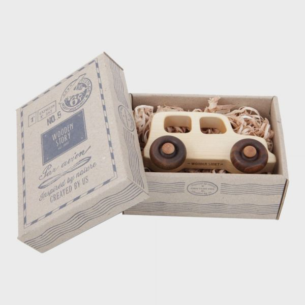 Bio-Spielzeug Wooden Story Holzauto Offroad 01
